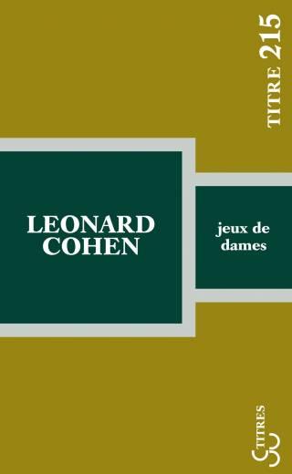 Cohen - Jeux de dames (Titres)