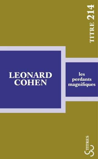 Cohen - Les Perdants magnifiques (Titres)