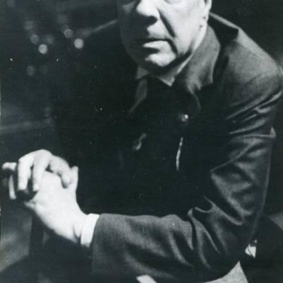 Jorge Luis Borges (c) Serge Bramly