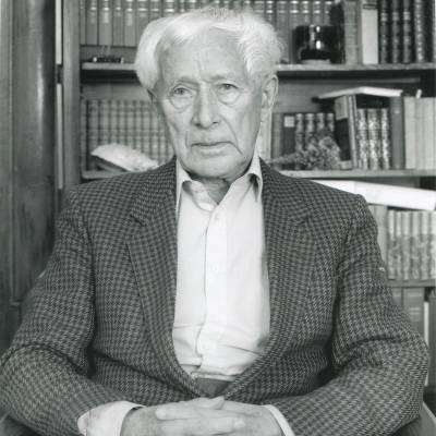 Ernst Jünger (c) François Lagarde