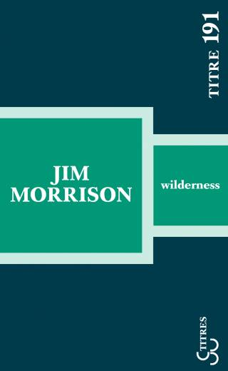 Jim Morrison - Wilderness