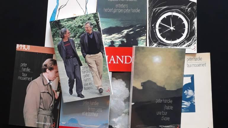 Peter Handke reçoit le Prix Nobel de Littérature 2019