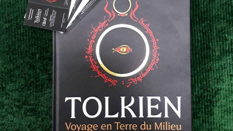 L'exposition « Tolkien. Voyage en Terre du Milieu » ouvre à la BNF