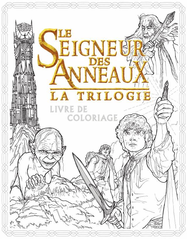 Tolkien - Livre de coloriage