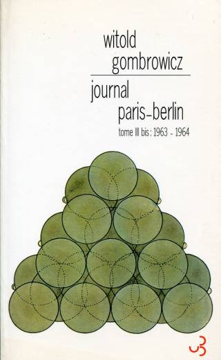 Gombrowicz - Journal Paris-Berlin
