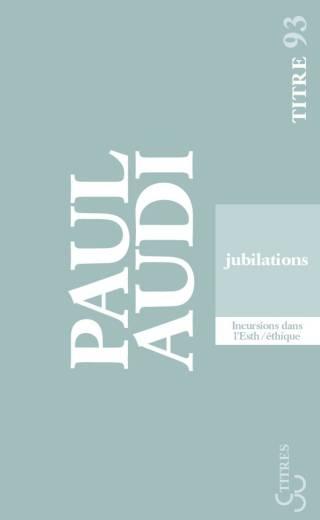 Paul Audi - Jubilations